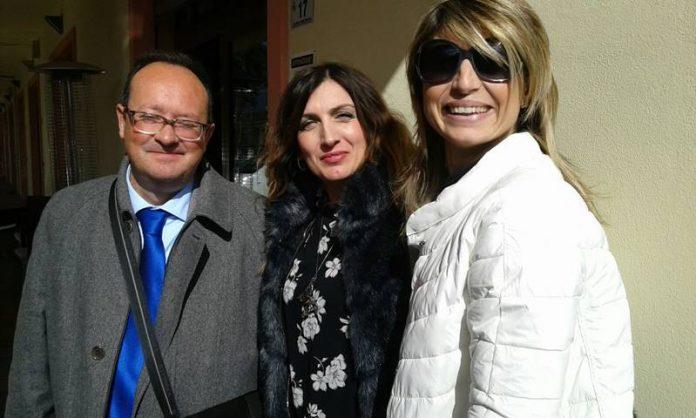 Da sinistra Guarascio, De Gori e Rubino