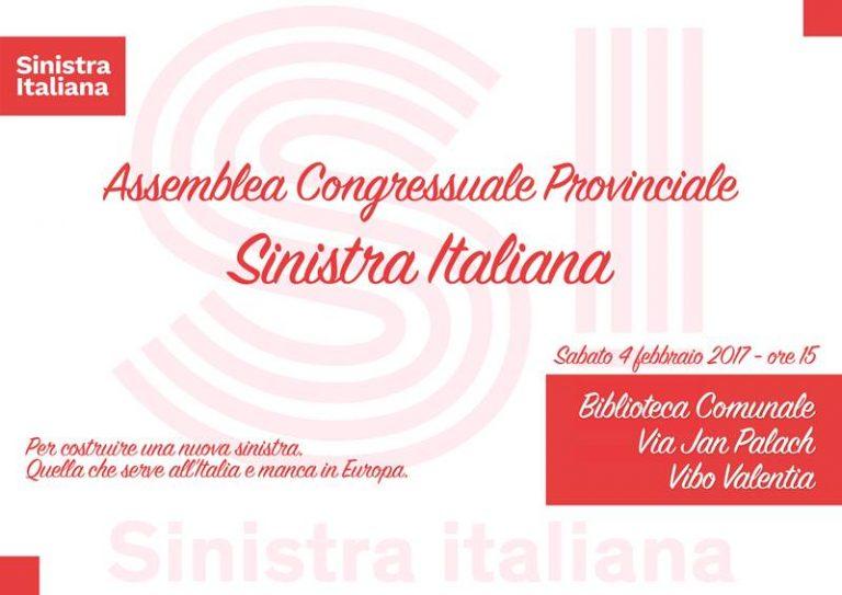 Sinistra Italiana a congresso, «Innoviamo la politica partendo dai nostri valori»