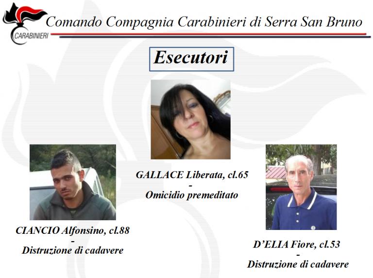 Omicidio ex candidato a sindaco di Dinami: giudizio immediato per i tre imputati