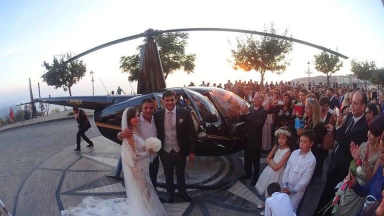 """""""Rinascita"""": lo sconto al ristorante per gli sposi in elicottero di Nicotera"""