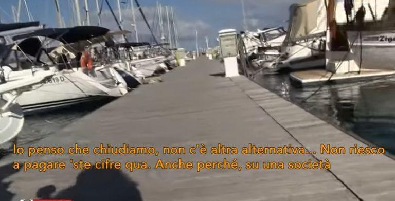 VIDEO  Tarsu record sui pontili, i titolari: «Costretti a chiudere da una tassa ingiusta»