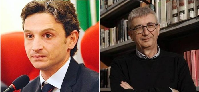 Giuseppe Mangialavori e Gilberto Floriani