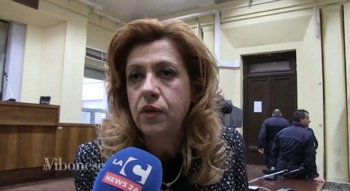 Marisa Manzini in aula a Vibo