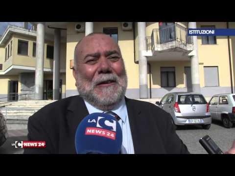 Il sindaco Pino Morello