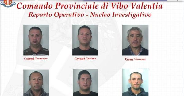 """'Ndrangheta: operazione """"Insomnia"""" a Vibo Valentia, 6 condanne in Appello"""