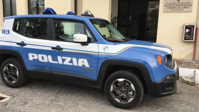 La Jeep Renegade in dotazione al Reparto Prevenzione crimine