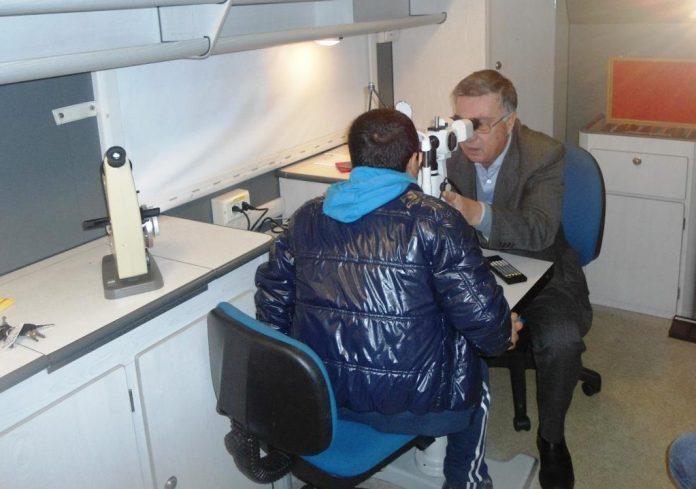 Screening gratuiti della vista per gli alunni serresi