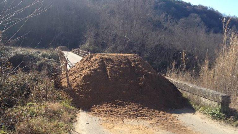 Cinque strade provinciali chiuse: Vazzano isolata, l'appello del sindaco