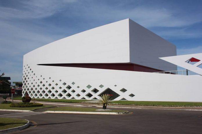 L'auditorium progettato da Schiavello