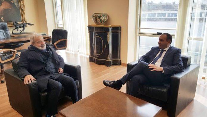 L'incontro tra il prefetto Longo e il presidente Niglia