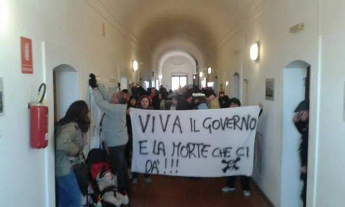 Una recente protesta del Movimento