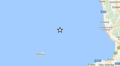 Terremoto, nuova serie di scosse lungo le coste vibonesi