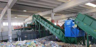 Un impianto di trattamento dei rifiuti