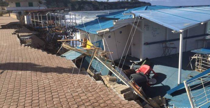 Mareggiate a Tropea, approvato il progetto di ripristino del lungomare