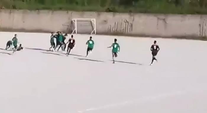 Rissa in campo tra Parghelia e Koa Bosco, chiuse le indagini per 15 tra giocatori e dirigenti (NOMI)
