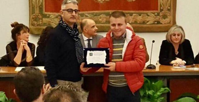 """Premio nazionale di fotografia """"AlberoAndronico"""", Saverio Caracciolo premiato a Roma"""