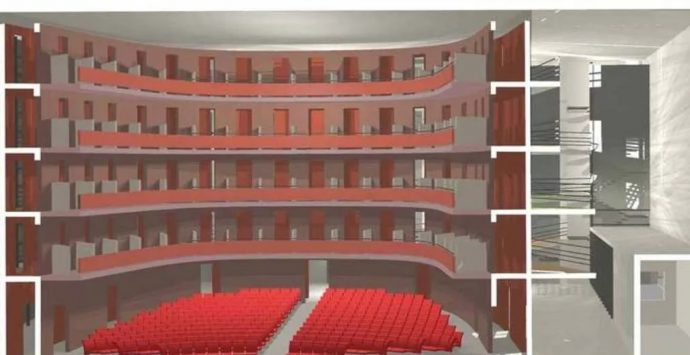Nuovo teatro di Vibo: lavori prorogati di ulteriori 180 giorni