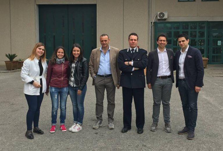 Anci Giovani visita il carcere di Vibo: «Accelerare la nomina del Garante regionale dei detenuti»