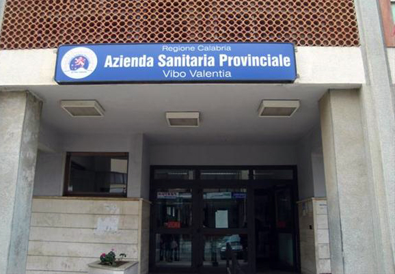 La sede dell'Asp di Vibo Valentia
