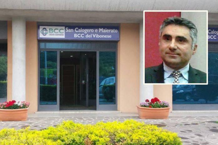 Nel riquadro Gennaro Davola, nuovo presidente Bcc del Vibonese