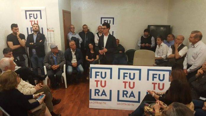 Gianluca Callipo ha incontrato i suoi sostenitori