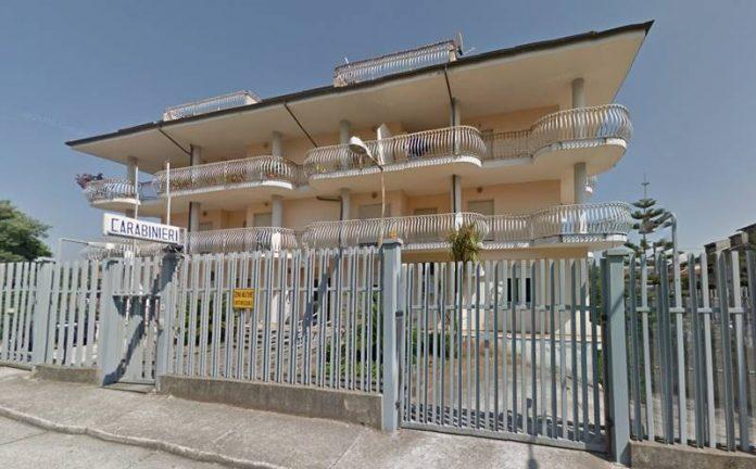 La Stazione dei carabinieri di Sant'Onofrio