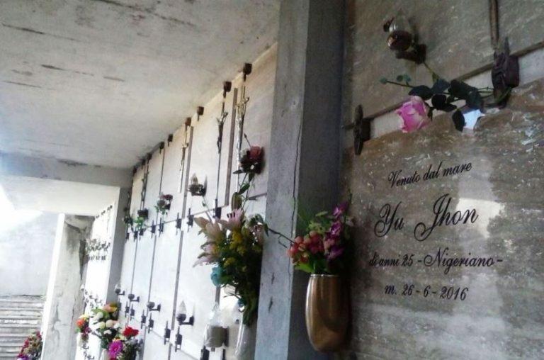 Migranti: nel cimitero di Bivona la tumulazione della salma di un giovane sbarcato ad aprile