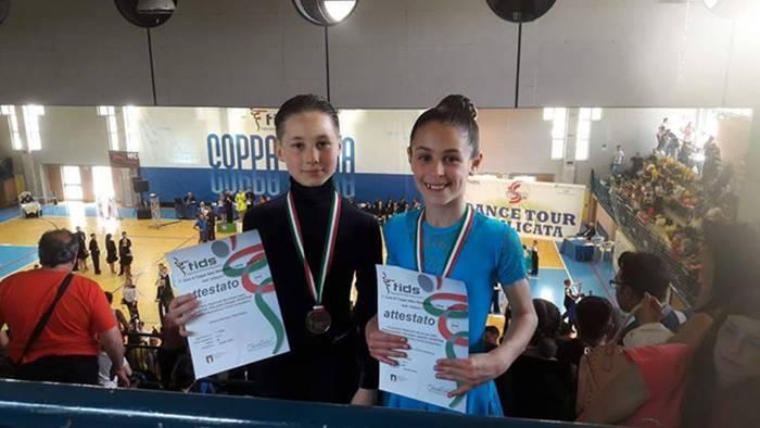 Danza, la giovanissima coppia vibonese Coloca-Dubrivnyy sul podio in Coppa Italia