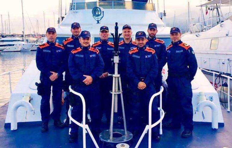 In missione al G7 di Taormina, rientra a Vibo Marina la motovedetta Cp 265