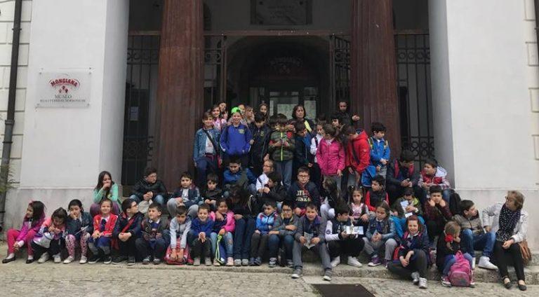 Mongiana: gli alunni di Brognaturo in visita alle Ferriere borboniche