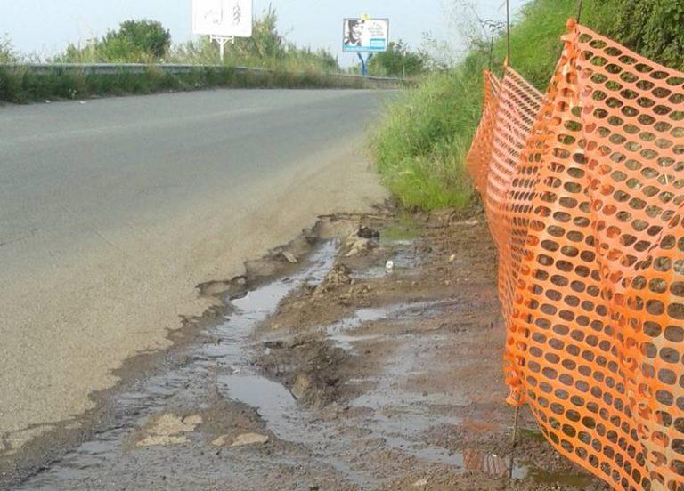 Vibo Marina, grossa perdita d'acqua in località S. Andrea