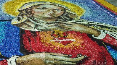 Infiorata di Potenzoni, nel Rione Chiesa le opere più apprezzate dalla giuria