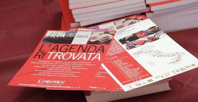 """La carovana dell'""""Agenda ritrovata"""" di Borsellino fa tappa a Pizzo"""