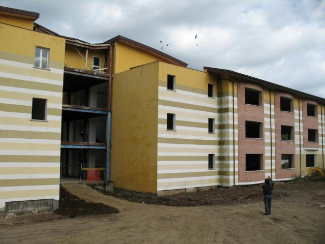 Una scuola in fase di completamento