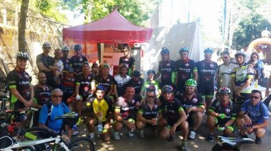 Sport e fede: pellegrinaggio in bici alla Madonna della Catena di Dinami