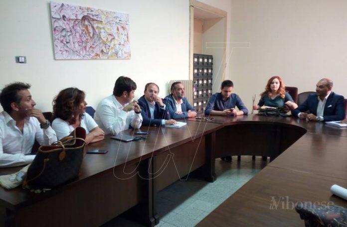 La conferenza stampa delle opposizioni