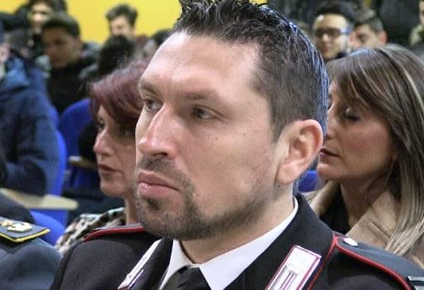 Pizzo si prepara ai funerali del maresciallo dell'Arma Paolo Fiorello