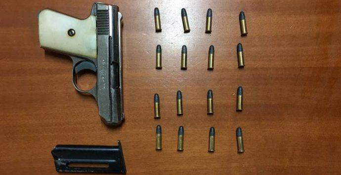 Armi: un arresto a Nicotera per la detenzione di una pistola