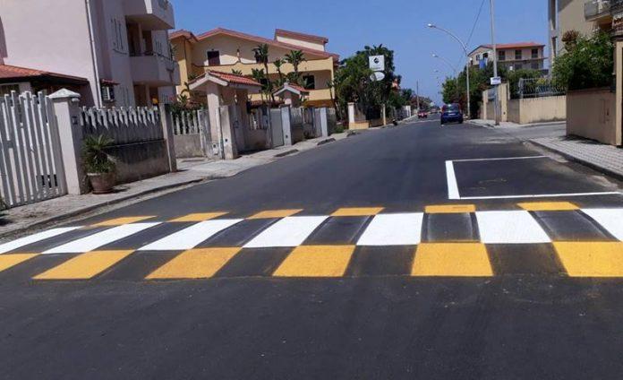 Gli interventi sulle strade della Marinella