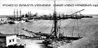 Il porto in un'immagine d'epoca