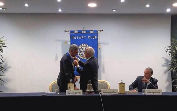 Rotary Club di Vibo: Marcello De Vita nuovo presidente