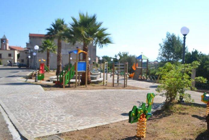 Il nuovo parco giochi di Zambrone