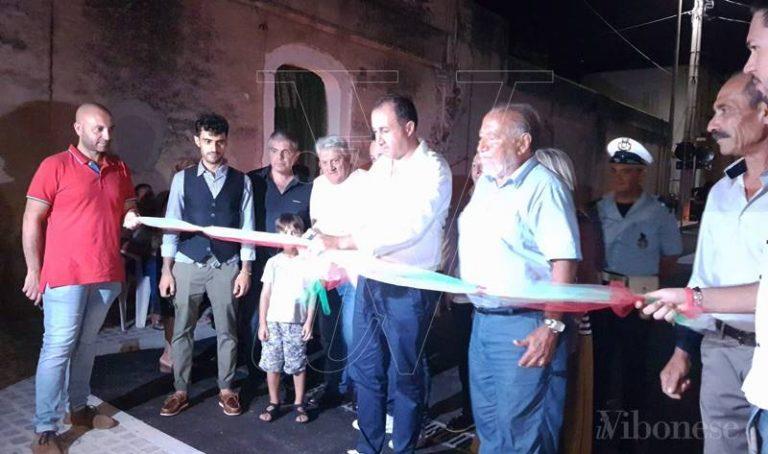 Briatico, inaugurata la nuova piazza Marconi