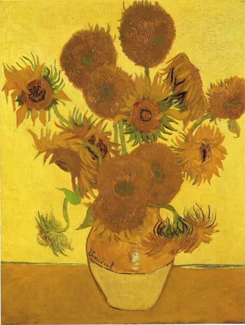I celebri girasoli di Van Gogh