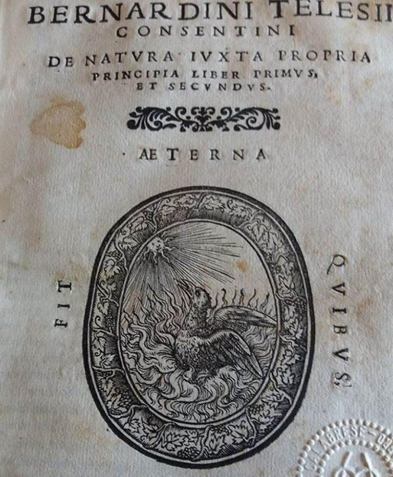 Le edizioni telesiane conservate a Soriano Calabro (VIDEO)