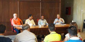 La conferenza stampa dell'Udc