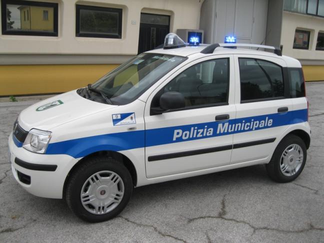 Rubata l'auto della polizia municipale di Pizzo
