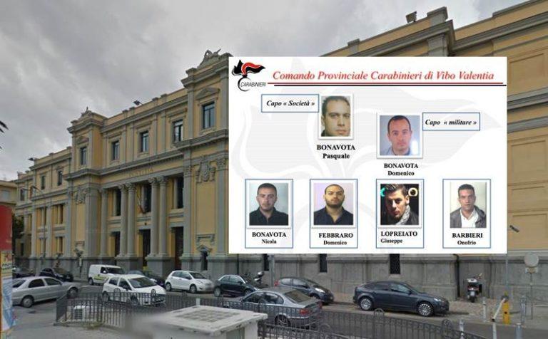 """'Ndrangheta: operazione """"Conquista"""" contro i Bonavota, chiesti 10 rinvii a giudizio"""