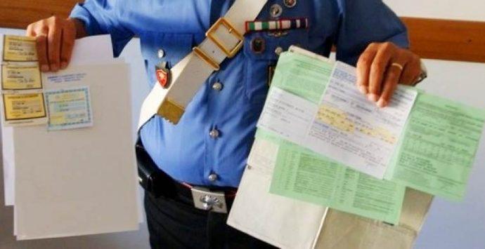 Truffe e assicurazioni: le accuse di falso formulate dalla Procura di Vibo