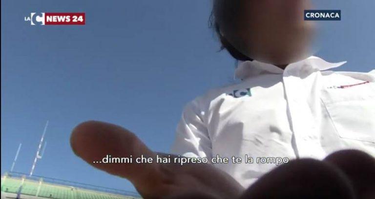 Vibo: riprese sul luogo della sparatoria, aggredito cameraman di LaC Tv (VIDEO)